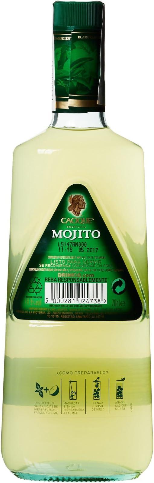 Cacique Pre-Mezclado Y Listo Para Beber - 700 ml