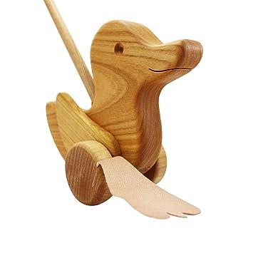 Holzspielzeug Goki 2092 Watschel-Ente