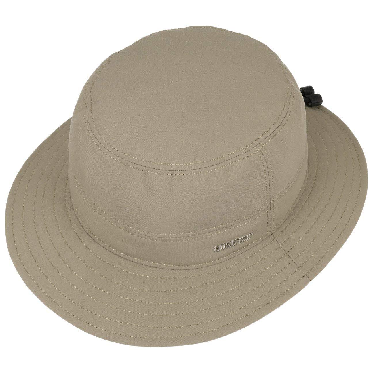 97fc44dc165d6 Lierys Gore-Tex Bucket Rain Hat Outdoor (XL (60-61 cm) - Light Olive)   Amazon.co.uk  Clothing