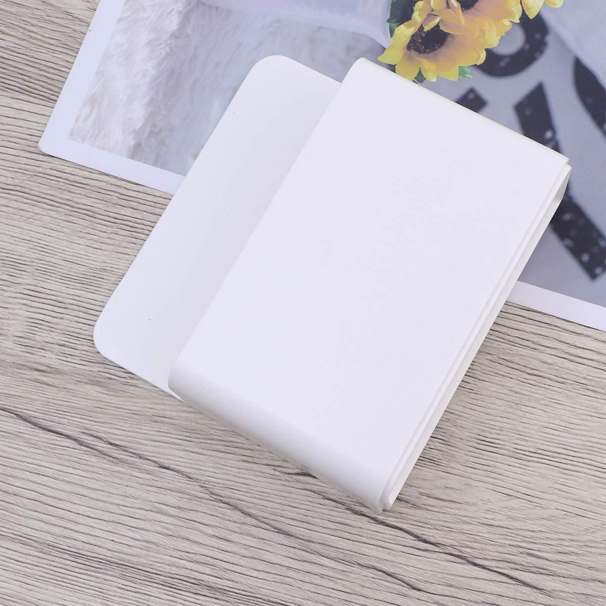 Blanco Toyvian Soporte de Marcador de borrado en seco magn/ético Soporte de l/ápiz magn/ético Pizarra Blanca Soporte de l/ápiz Organizador Soporte de l/ápiz