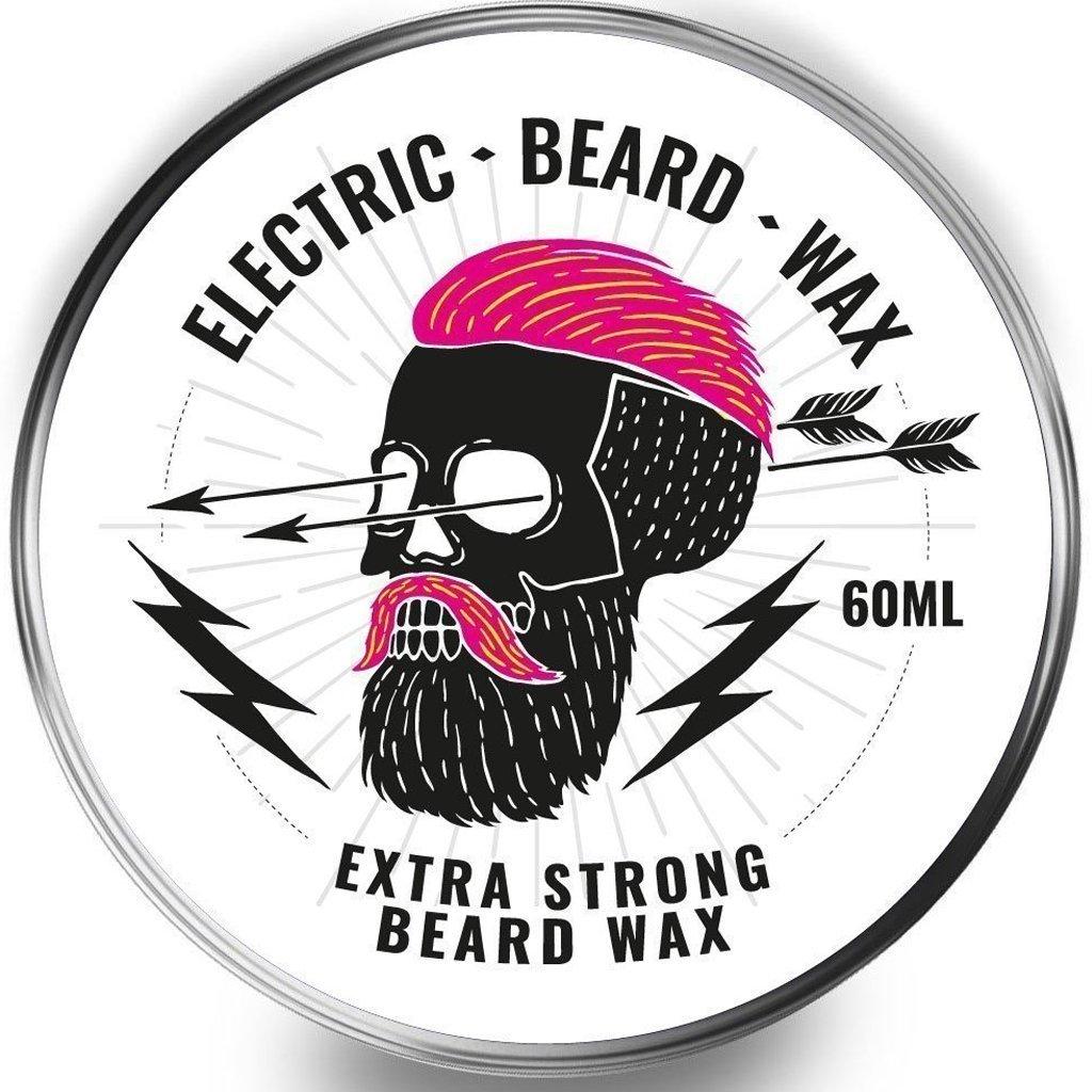 Beard Wax 60ml Moustache Wax - Electric Beard Wax! Super Hold, Super Firm - Possibly one of the hardest beard waxes on the market! Cambridge Beard Co.