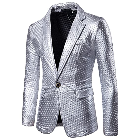 Dihope Homme Costume Fashion Blazer Veste Slim Tailleur OL Jacket Manches  Longues Coat Formel d affaire Mariage  Amazon.fr  Vêtements et accessoires 36f76432b76a