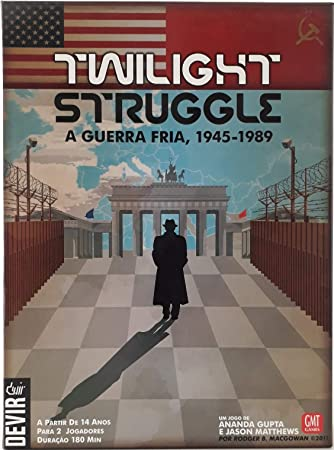 Devir - Twilight Struggle: la Guerra Fría, 1945-1989, portugués, Juego de Mesa (BGTWISTPT): Amazon.es: Juguetes y juegos