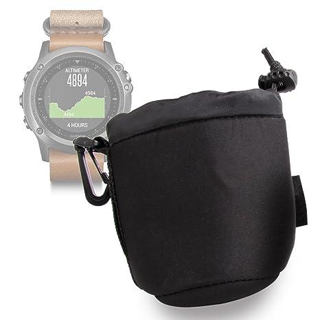 DURAGADGET Bolsa Negra para Smartwatch Razer Nabu Watch ...