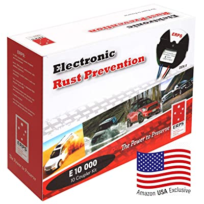 Electronic Rust Prevention Systems Self Install Kit for Motor Vehicle RV Truck 4x4 4WD SUV Car, Anti-Corrosion Protection Proofing, Rust Inhibitor, Rust Stopper for Cars, 10 Year Worldwide Warranty: Car Electronics