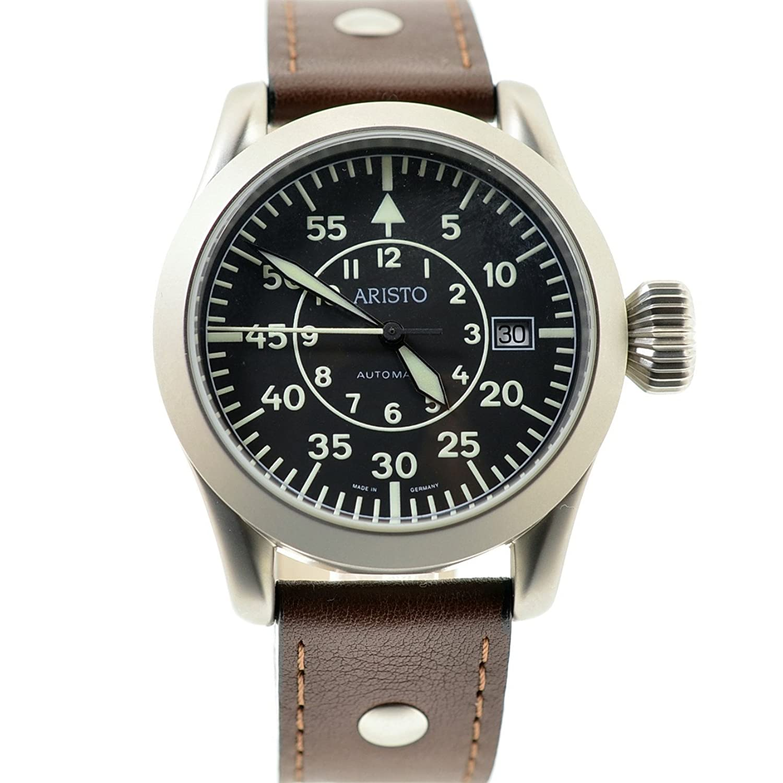 Aristo 3h32 40 mm自動Pilot 's Watch B002753UUS
