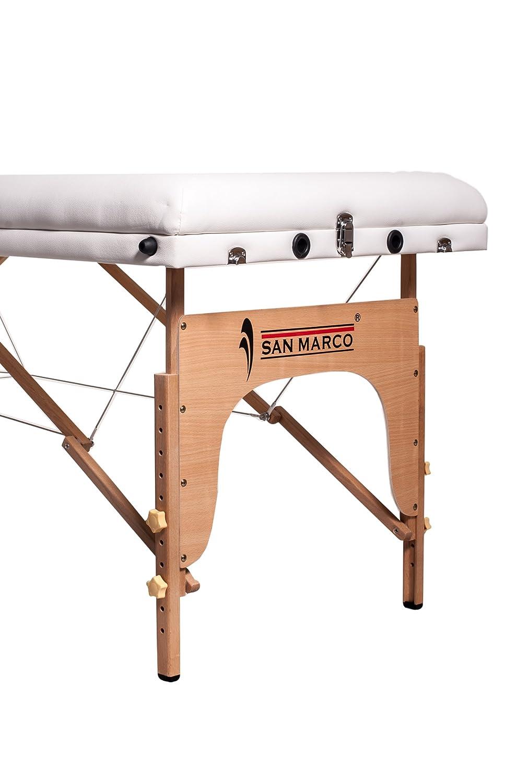 Lettino Massaggio San Marco.San Marco Sml018 Sml019 Sml020 Lettino Massaggio Bianco A 3 Zone