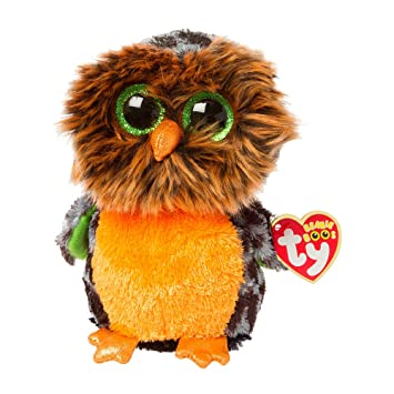 3c2ffcdefd3 Amazon.com  Claire s Accessories Ty Beanie Boos Plush Midnight the Owl - 6