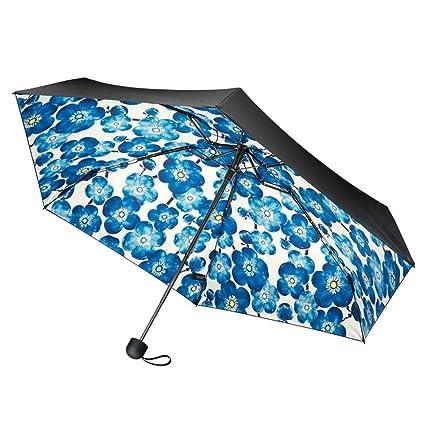 Zxzxzl Paraguas De Bolsillo Protector Solar Pequeño Paraguas Negro Bajo El Paraguas Paraguas Paraguas De Sol