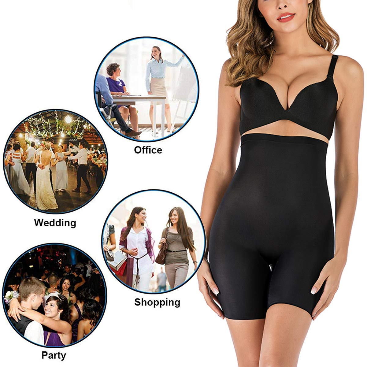 FUT Women Butt Lifter Body Shaper Tummy Control Panties Enhancer Underwear Boy Shorts