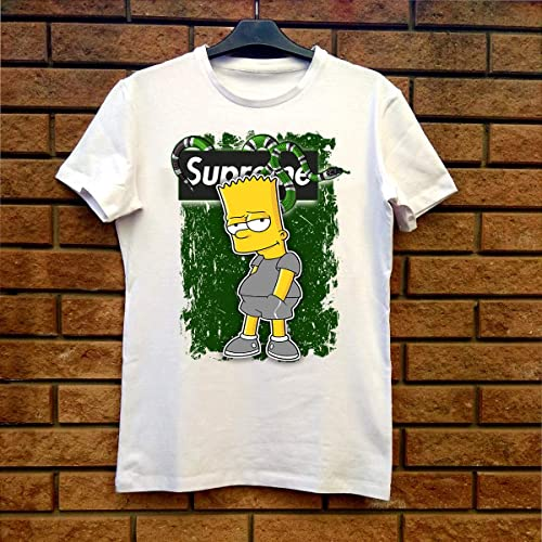 519ff82dd Image Unavailable. Image not available for. Color: Supreme Gucci Bart  Simpson Fan Gift T-Shirt