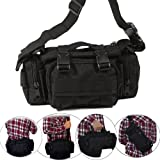 Tactical Waist Pack Deployment Bag Military Molle Bicycle/Motorcycle 3P Waterproof Fanny Packs Camera Bag Camo EDC Utility Pouch Hand Carry