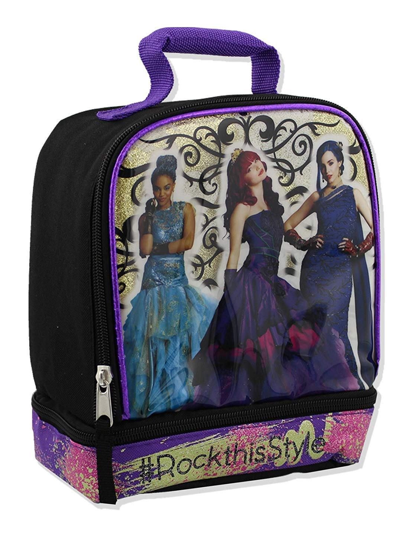 Disney Descendants Soft Dual Compartment Lunch Box
