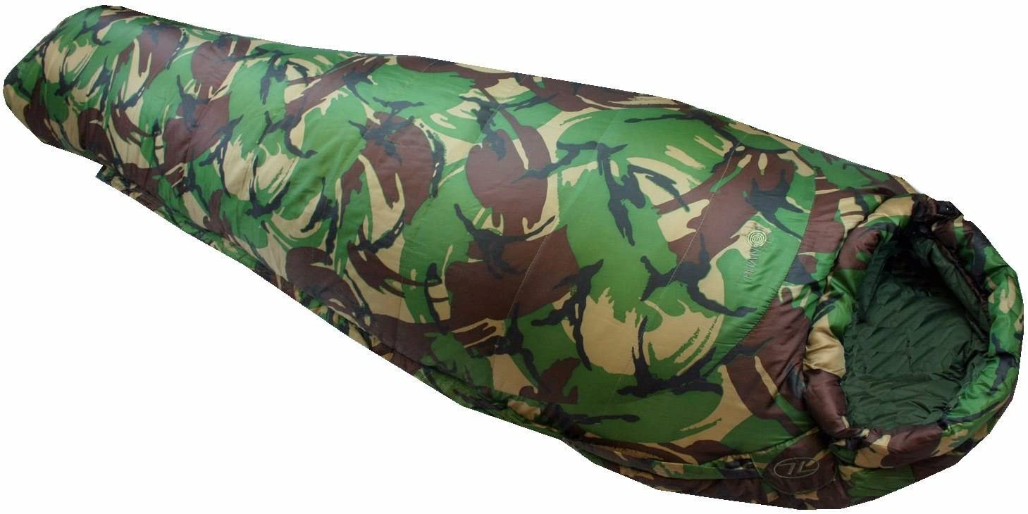 Season Cold Weather Sleeping Bag Mummy Camo Army Military Winter Highlander 4