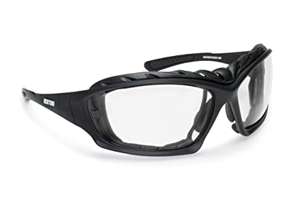 50093b069e1 Photochromic Motorcycle Goggles - Removable Clip for Prescription ...
