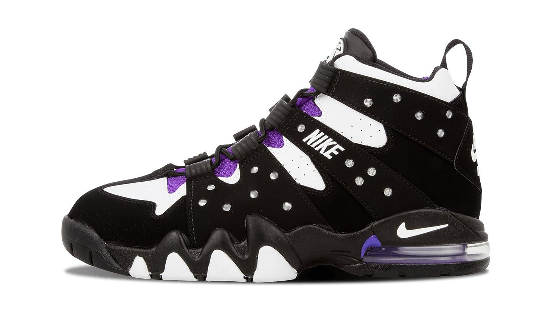 NIKE Air Max 2 CB `94 Schuhe Herrren Sneaker Turnschuhe Schwarz 305440 006  44.5 EU|black white pure purple 006