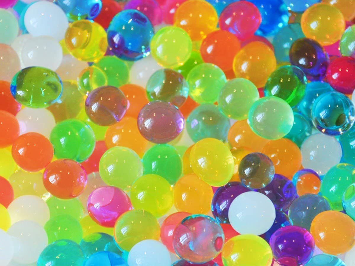 hydroperlen Aqua perles perles deau Gel Boules Gel Perles Perles D/écoration # 3659