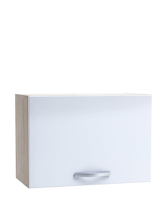 13Casa - Duvall A2 - Pensile cucina. Dim: 60x30x42 h cm. Col: Rovere spazzolato, Bianco. Mat: Nobilitato. F00361802022_WHITE