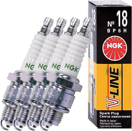 NGK 3975 - Bujías (4 unidades): Amazon.es: Coche y moto