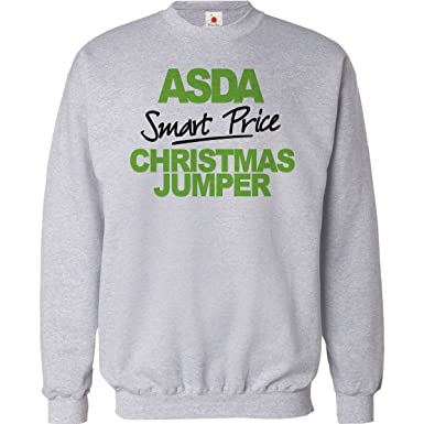 65d5e0417 FUNNY CHRISTMAS JUMPER ASDA SMART PRICE UNISEX XMAS SWEATSHIRT MENS ...