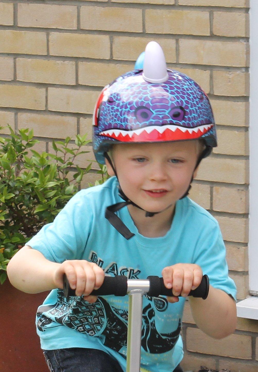 Dinosaur Safety Helmet Cycling Skating Scooter Bike