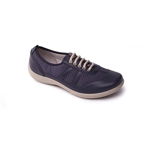 Padders Women's Leather Shoe 'Julie' | Dual Fit System | Super Wide  EEE-EEEE Fit | 30mm Heel Height | Free Footcare UK Shoe Horn: Amazon.co.uk:  Shoes & Bags