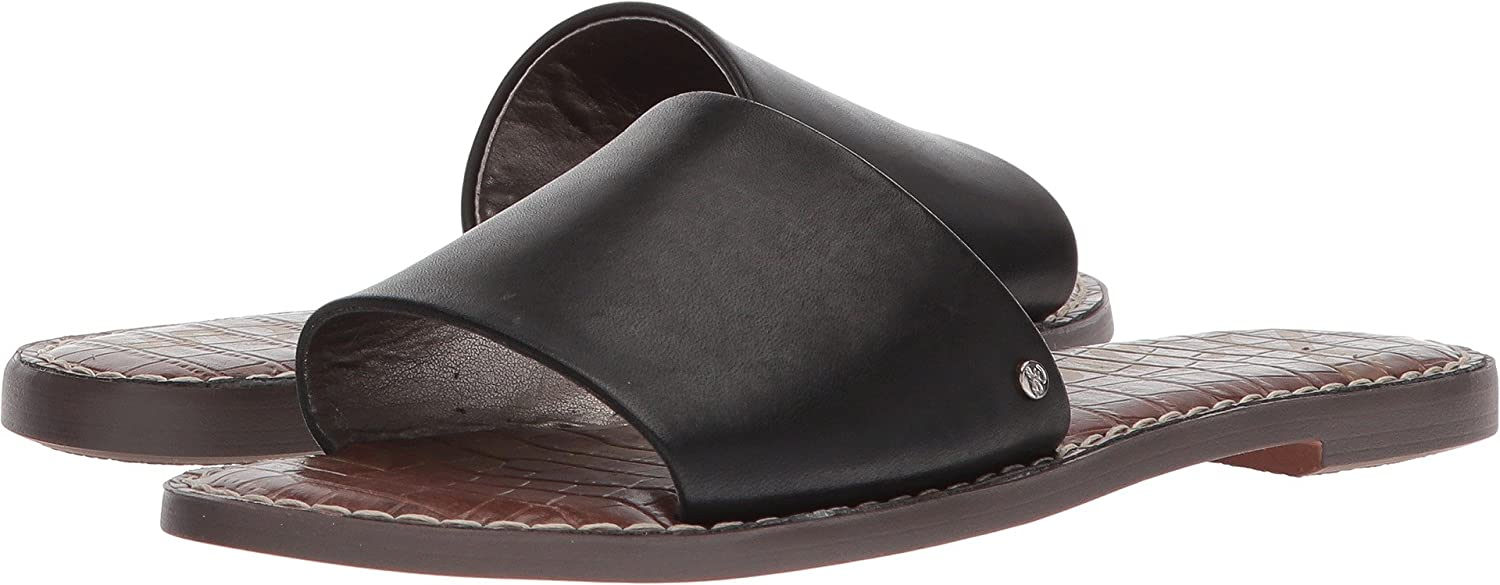 Sam Edelman Women's Gio Slide Sandal B07B2J7M51 7 B(M) US|Black Antanado Leather