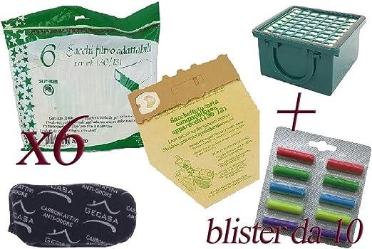 Bolsas de papel natural + ambientadores multifragranza + Filtro ...