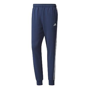 ac57710138c0e adidas BR3699 Pantalon Homme, Bleu Collegiate Navy/White, FR (Taille  Fabricant :