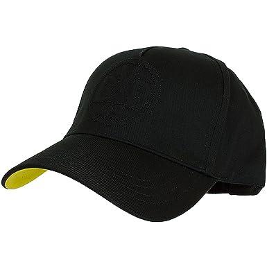 BVB 09 Borussia Dortmund BVB Black on Black Cap (one size, schwarz ... 2dbcd413cc