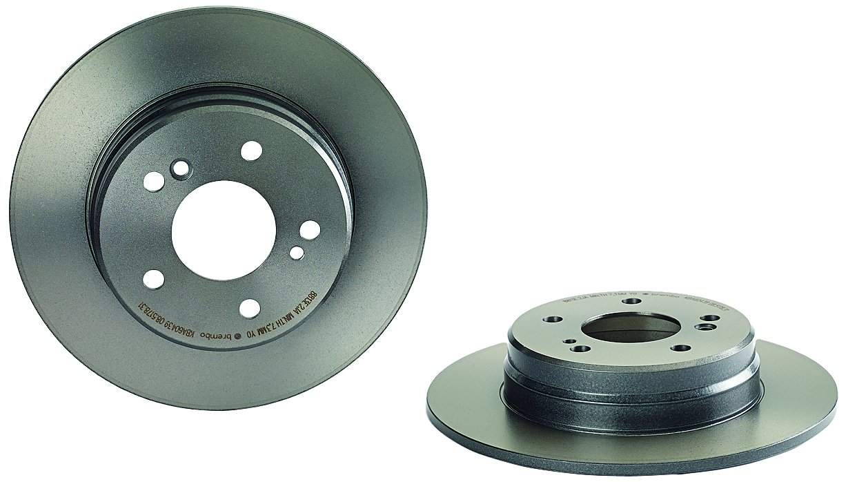 Brembo 08.5178.31 UV Coated Rear Disc Brake Rotor