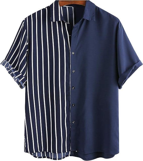Camisas de Manga Corta para Hombre Camisas de Manga Corta ...