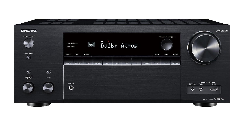 ONKYO TX-NR686 AVレシーバー 7.2ch/Bluetooth/ハイレゾ対応 ブラック TX-NR686(B) 【国内正規品】 B07D2PBPSC  AVアンプ