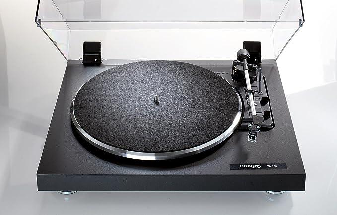 Thorens TD158B - Tocadiscos (115-230 V, 50-60Hz), negro: Amazon.es ...