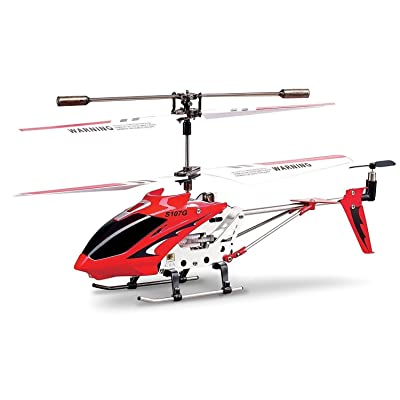 Syma S107/S107G R/C Helicopter with Gyro- Red: Syma: Toys & Games