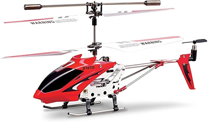 Fusion 3.5CH Gyro Metal RC Helicopter Colors May Vary