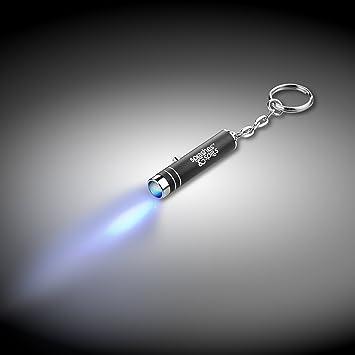 Llavero de luz negra UV, con pilas: Amazon.es: Bricolaje y ...