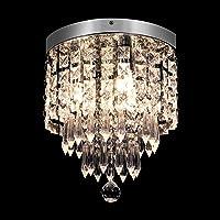 KingSo Modern Chandelier Crystal Ceiling Light