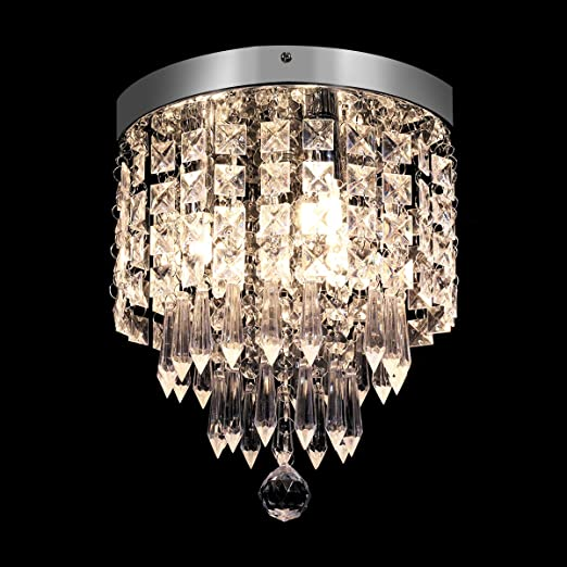 Amazon.com: KingSo - Lámpara de techo de 3 luces, moderna ...