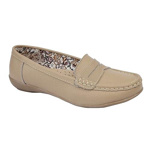 Boulevard - Zapatos mocasines de verano para mujer: Amazon.es: Zapatos y complementos