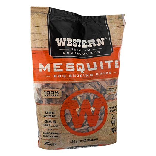 Amazon Com Western Premium Bbq Products Mesquite Smoking Chips 180
