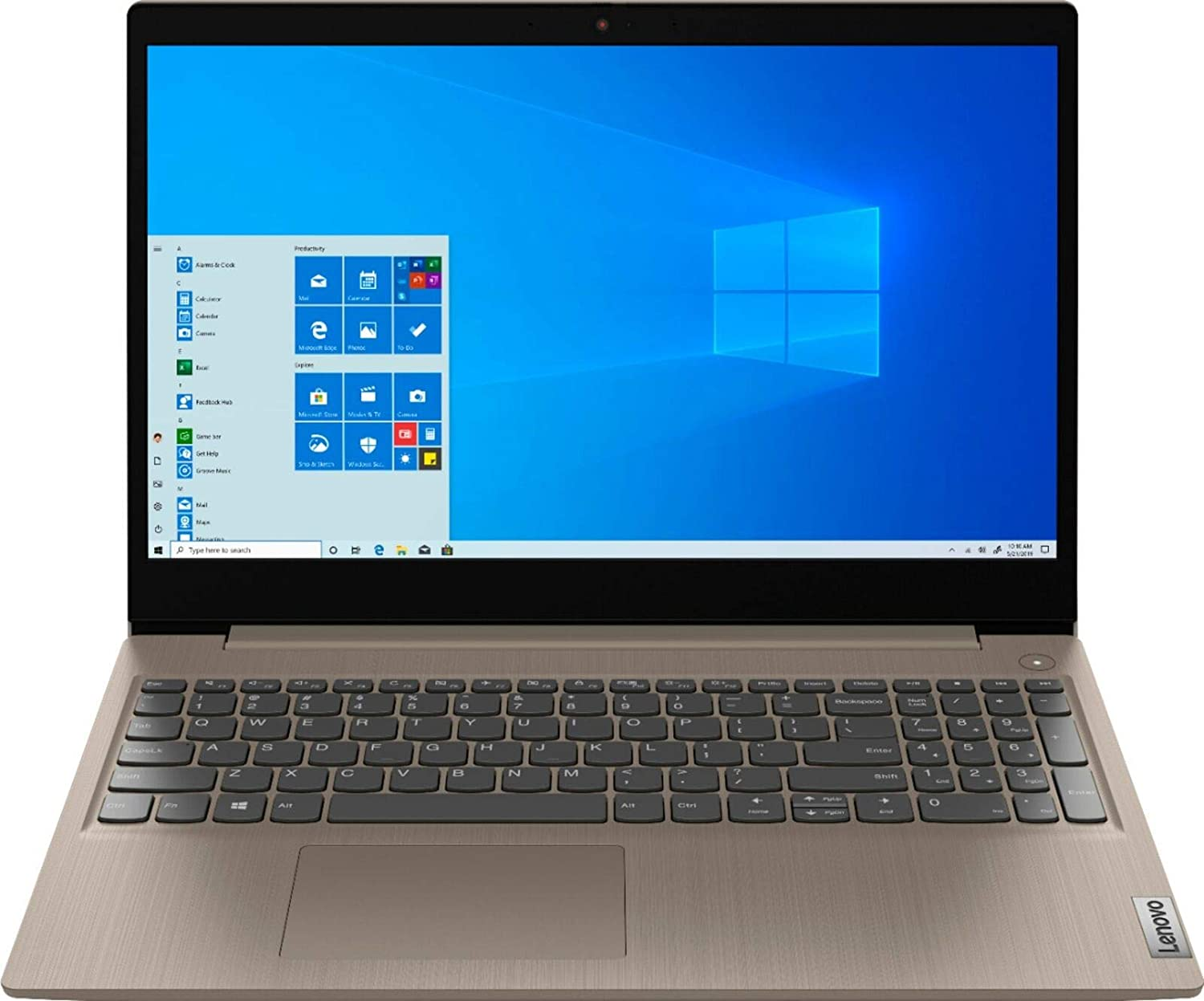 "Lenovo IdeaPad 3 15.6"" HD Touchscreen Anti-glare LED-Backlit Laptop, Intel Quad Core i5-1035G1, 12GB DDR4, 1TB HDD, 4-in-1 Card Reader, Webcam, Bluetooth, Wi-Fi 6, HDMI, Windows 10 w/ 32GB Flash Drive"