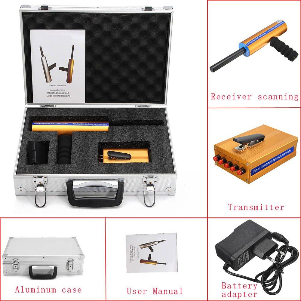 Crewell 3D - Detector de Diamante de Mano Profesional (Metal/Oro): Amazon.es: Deportes y aire libre