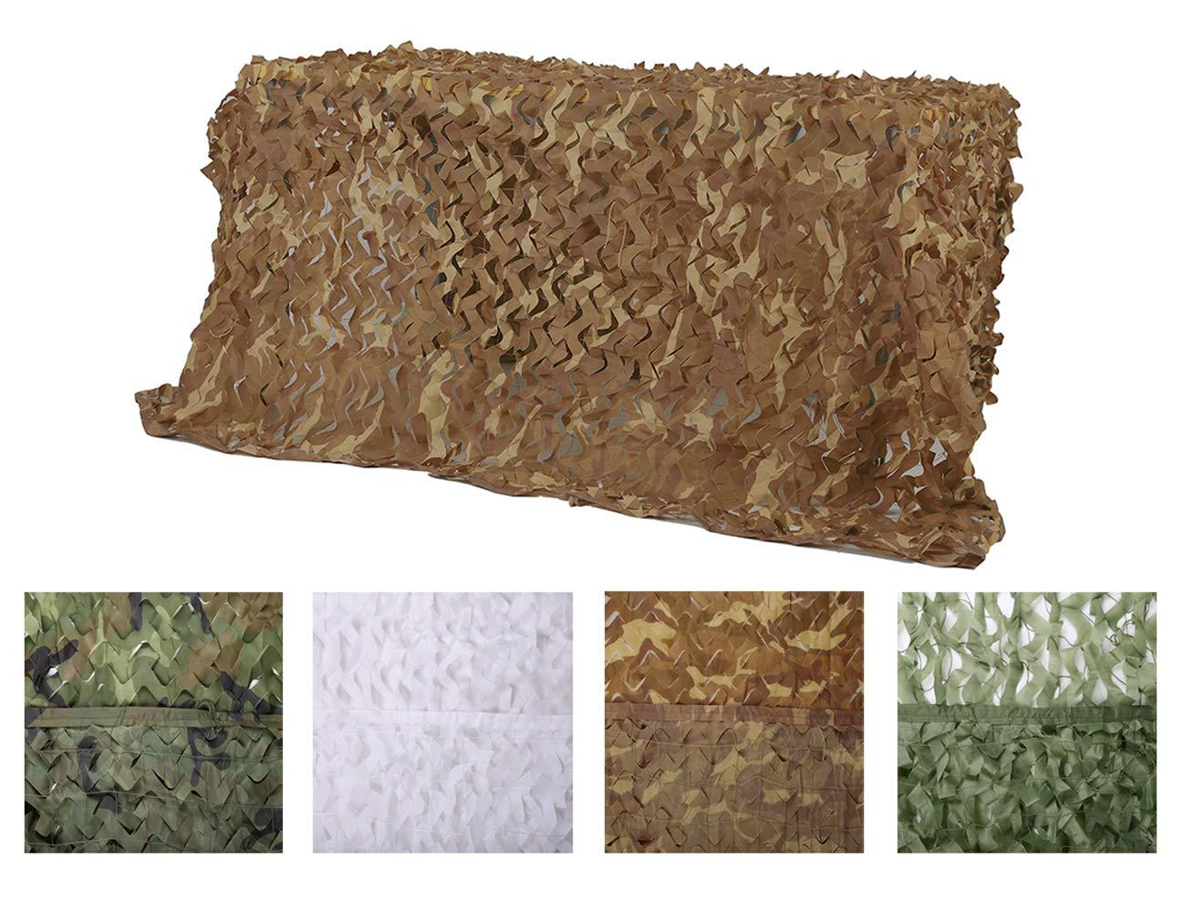 Chiglia Camouflage Netting Camo Net Sunscreen Nets Desert 6.5ftx10ft