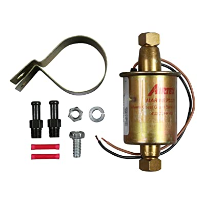 Airtex E8251 Universal Solid State Electric Fuel Pump for Marine Applications: Automotive