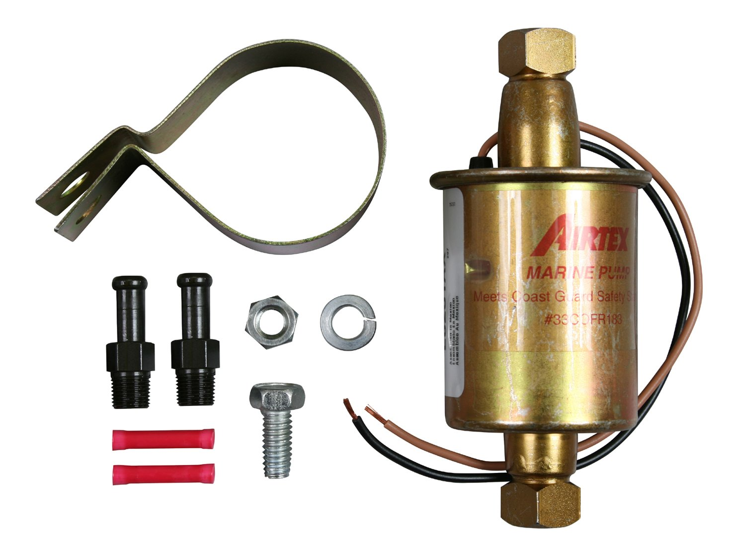 Amazon.com: Airtex E8251 Universal Solid State Universal Electric Fuel Pump  for Marine Applications: Automotive