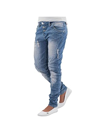 45ee8a242a0cf1 Sublevel Women Jeans/Boyfriend Jeans Used Blue M (36): Amazon.co.uk ...