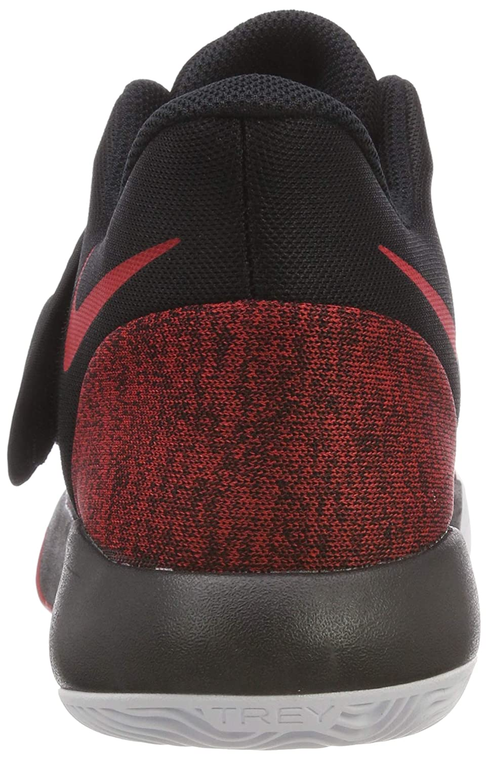 3229519ffc4e85 Nike Men s KD Trey 5 VI Black University Red-White Basketball Shoes (AA7067- 006) (UK-10 (US-11))  Buy Online at Low Prices in India - Amazon.in