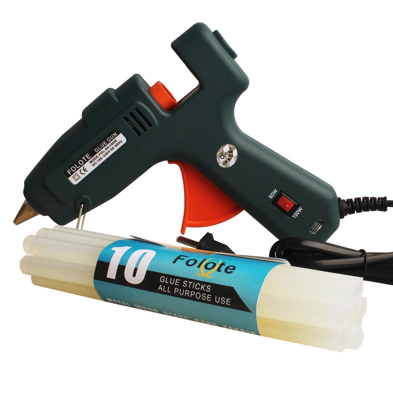 60W /100W Glue Gun High Temperature Glue Gun& 10pcs Glue ...