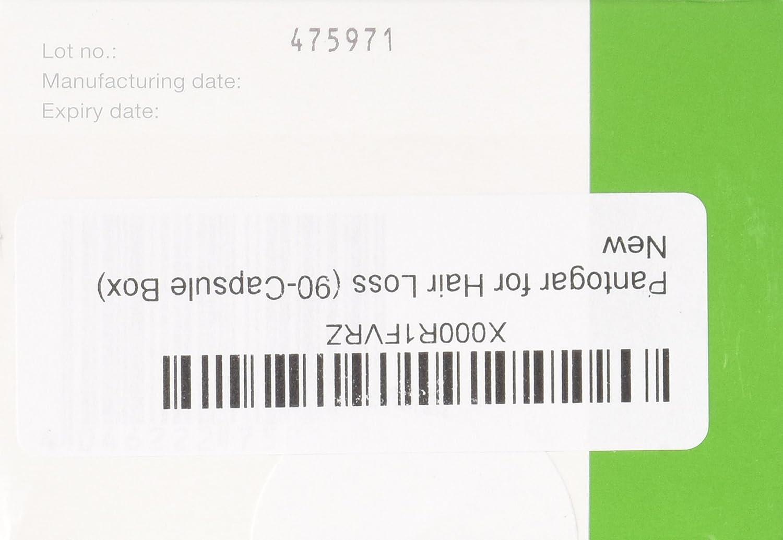 Pantogar for Hair Loss (90-Capsule Box) by Pantogar: Amazon.es: Salud y cuidado personal